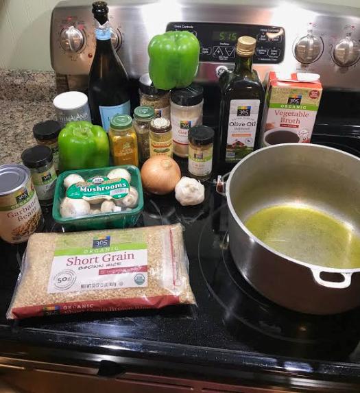 Vegan Brown Rice Pilaf1