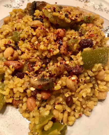 Vegan Brown Rice Pilaf12