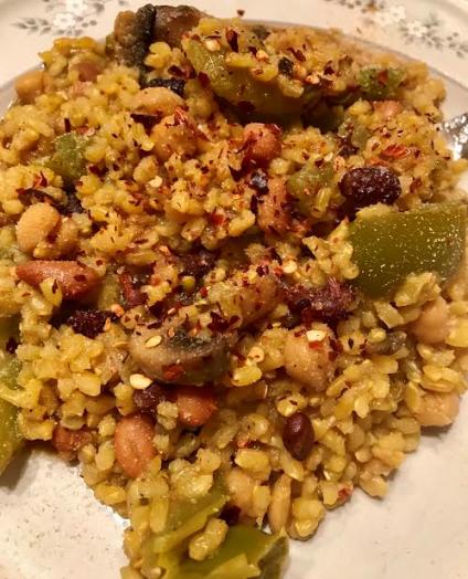 Vegan Brown Rice Pilaf12