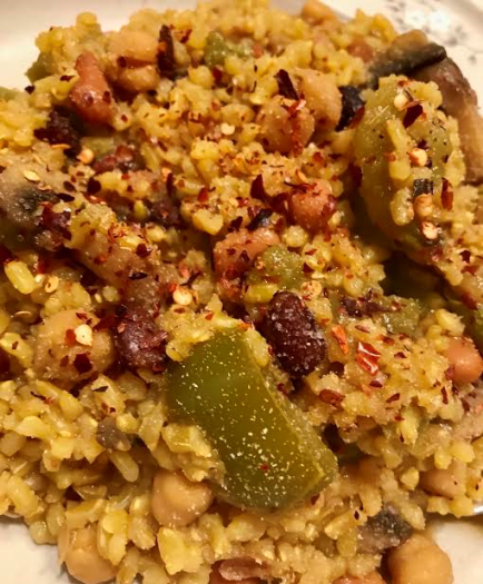 Vegan Brown Rice Pilaf13