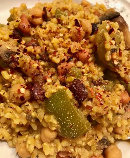 Vegan Brown Rice Pilaf13